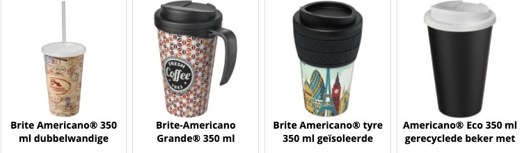 Drinking Cups made in Europe
