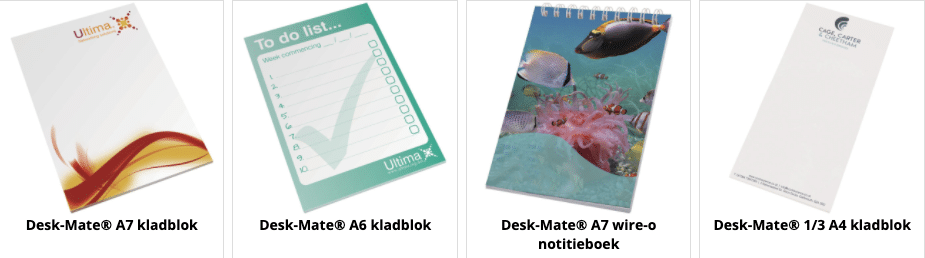 Notepads Made in Europe